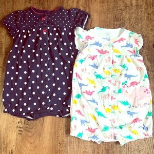 24 month rompers ! Very cute